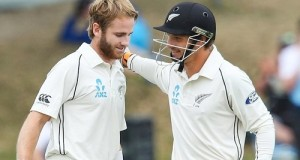 Williamson 242*, Watling ton set 390 target for SL in Wellington