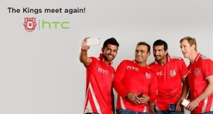 HTC will be the official Principal Sponsor of KXIP in IPL 2015