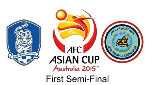 Korea Republic vs Iraq first semifinal 2015 asian cup preview.