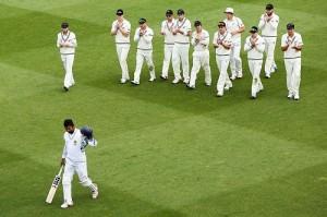 Kumar Sangakkara becomes fifth batsman to score 12000 runs in test cricket.
