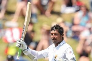 Kumar Sangakkara double hundred led Sri Lanka to take lead of 135 runs on day-2 of wellington test.