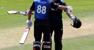New Zealand won by 108 runs in Dunedin ODI against SL
