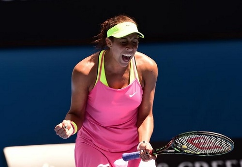 Madison Keys defeated Venus Williams to enter her first grand slam semifinal.