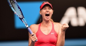 Sharapova beats Bouchard in quarterfinals at 2015 Aus Open