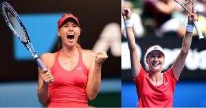 Maria Sharapova vs Ekaterina Makarova 2015 Australian Open Semifinal preview.