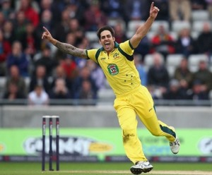 Mitchell Johnson returning to australian squad for tri-series final and 2015 world cup.