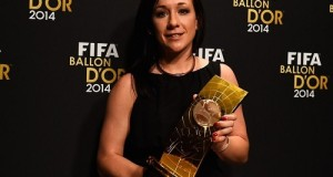 Nadine Kessler wins FIFA Women's World Player of the year 2014