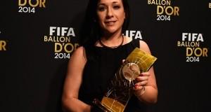 Nadine Kessler wins FIFA Women's World Player of the year 2014