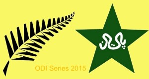 New Zealand vs Pakistan 2 ODI series 2015