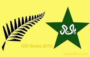 New Zealand vs Pakistan two ODI match series 2015.
