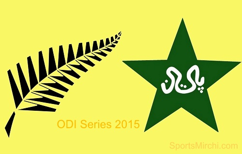 New Zealand vs Pakistan two ODI match series 2015.