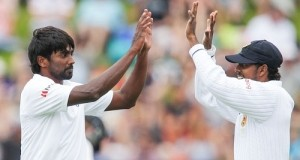 NZ bowled out on 221 runs, SL 78/5 on Day 1 of Wellington test