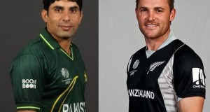 Pakistan and New Zealand teams for Two ODIs series 2015