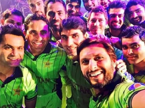 Pakistan unveiled new kit for ICC cricket world cup 2015.