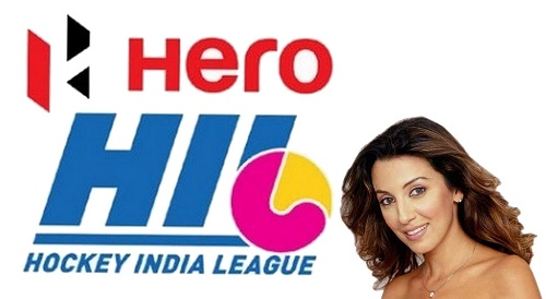 Perizaad Zorabian to welcome guests at hero hockey india league opening ceremony 2015.