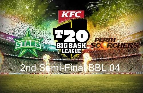 Perth Scorchers vs Melbourne Stars 2nd Semifinal live score, teams, preview bbl 04.