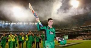 Handscomb maiden T20 century beats Perth Scorchers at MCG