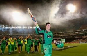 Peter Handscomb scored maiden t20 hundred against Perth Scorchers at MCG in BBL 04 match.