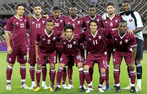 Qatar football team 23 man roster for 2015 afc asian cup.