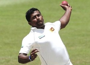 Rangana Herath 50-50 for second test match in wellington.