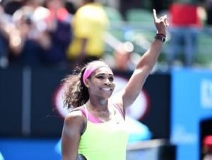 Serena Williams beat Dominika Cibulkova to enter Australian Open semifinal 2015.