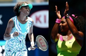 Serena and Venus Williams qualified for round four at Australian Open 2015.