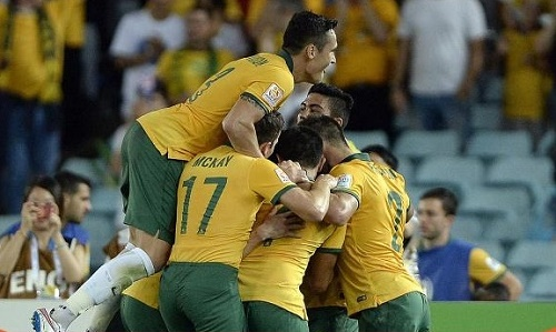 Socceroos beat China by 2-0 to qualify for the semifinal of australian asian cup 2015.