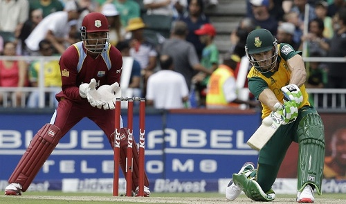 South Africa rests Faf du Plessis for final twenty20 against West Indies in Durban.