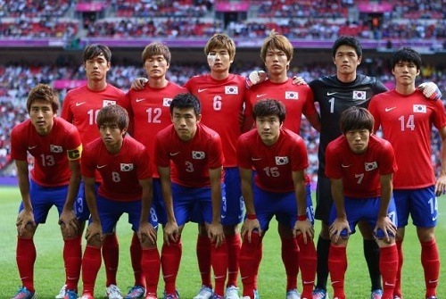 South Korea 23 man squad for 2015 afc asian cup.