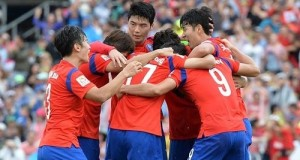 Korea beat Uzbekistan to qualify for semifinal in 2015 Asian Cup