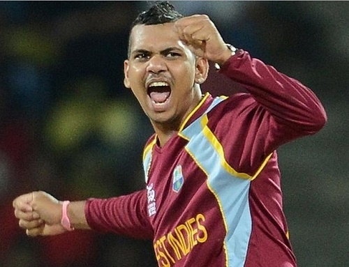 Sunil Narine included in West Indies 15 man squad for cricket world cup 2015.