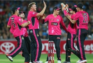 Sydney Sixers qualified for the big bash league final 2014-15.