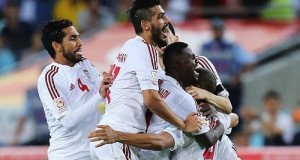 UAE out title defender Japan to enter in asian cup semi-final 2015