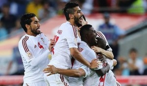 UAE beat Japan in quarterfinal of Asian cup 2015 to qualify for the semifinal against socceroos.