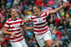 United States to play 10 matches before 2015 FIFA Women's world cup.