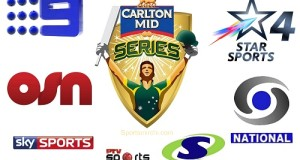Where to watch Live Streaming of Carlton ODI Tri-Series 2015