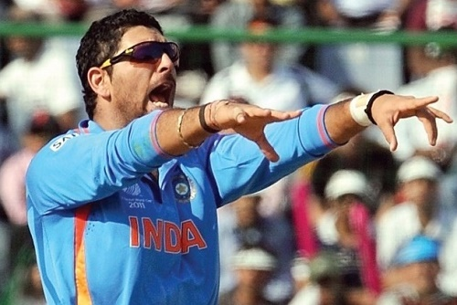 Yuvraj Singh may replace Ravindra Jadeja in Indian squad for world cup 2015.