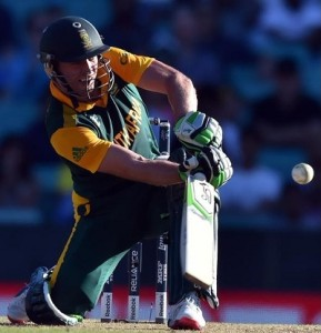AB de Villiers slammed fastest 150 of ODIs in 64 balls at world cup against West Indies.