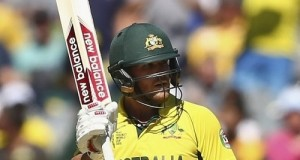 Aaron Finch slams first hundred of 2015 cricket world cup