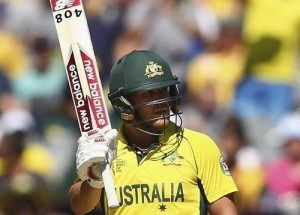 Aaron Finch scored first century of ICC cricket world cup 2015.