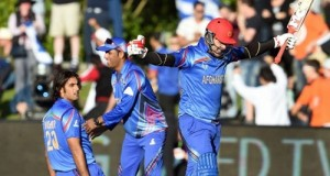 Afghanistan registers first cricket world cup win against Scotland