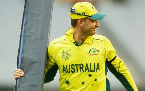 Australia captain Michael Clarke ruled out from first match of world cup 2015 against England.