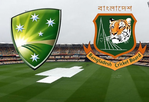 Australia vs Bangladesh world cup 2015 match abandoned due to rain.