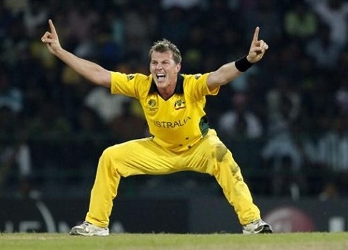 Brett Lee to coach Ireland during 2015 cricket world cup.