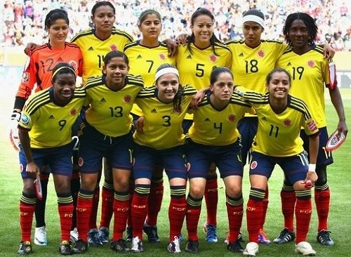 Colombia matches schedule for FIFA women's world cup 2015.