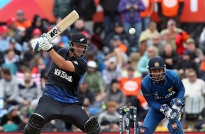 Corey Anderson made 75 in 2015 world cup match-1 against Sri Lanka.