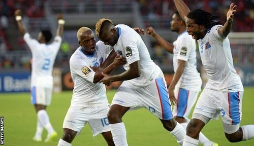 DR Congo beat Congo by 4-2 to qualify for semifinal of 2015 Africa cup of nations.