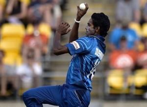 Dushmantha Chameera replaced Dhammika Prasad in Sri Lanka world cup 2015 squad.