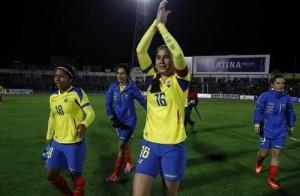 Ecuador matches schedule for 2015 women's FIFA world cup.