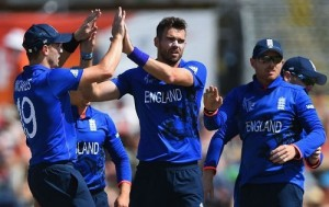 England beat Scotland by 119 runs in 2015 world cup.